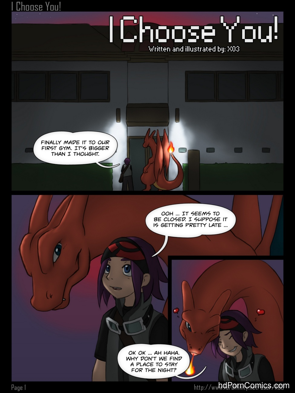 I Choose You 2 free sex comic
