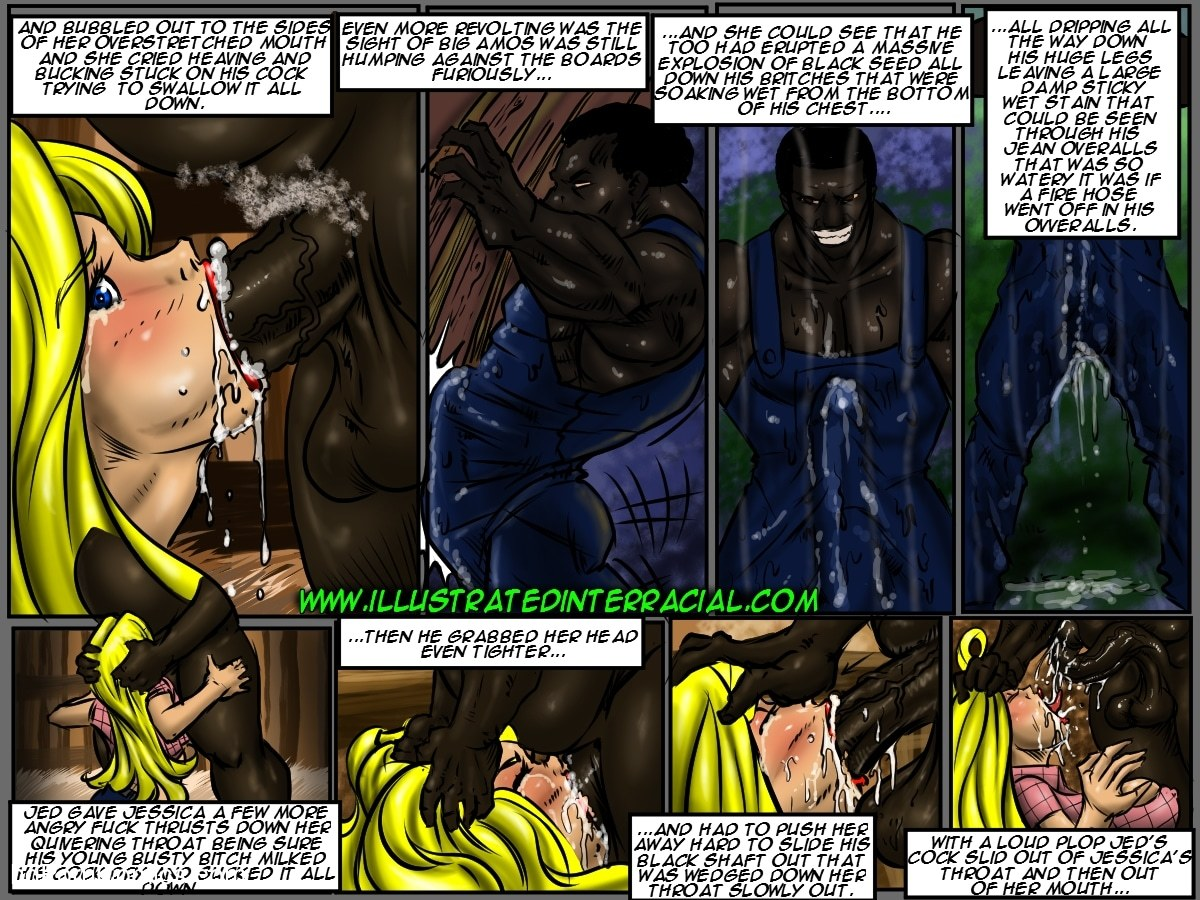 Illustrated Interracial-Farm Girl14 free sex comic