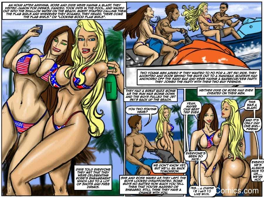 Ilustrated Interracial-Flag Girls10 free sex comic