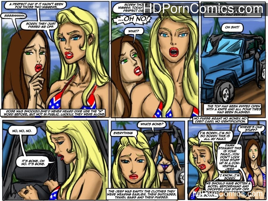 Ilustrated Interracial-Flag Girls11 free sex comic