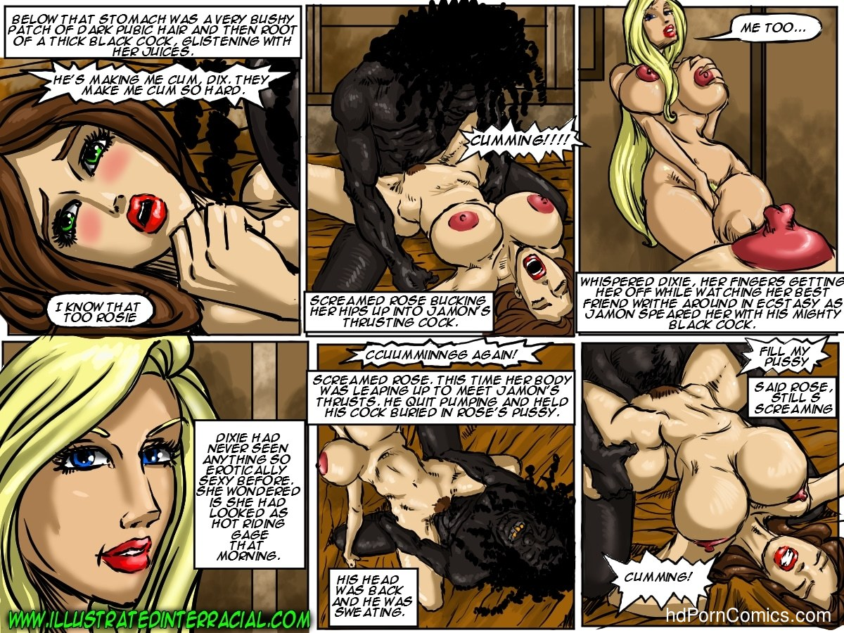 Ilustrated Interracial-Flag Girls115 free sex comic