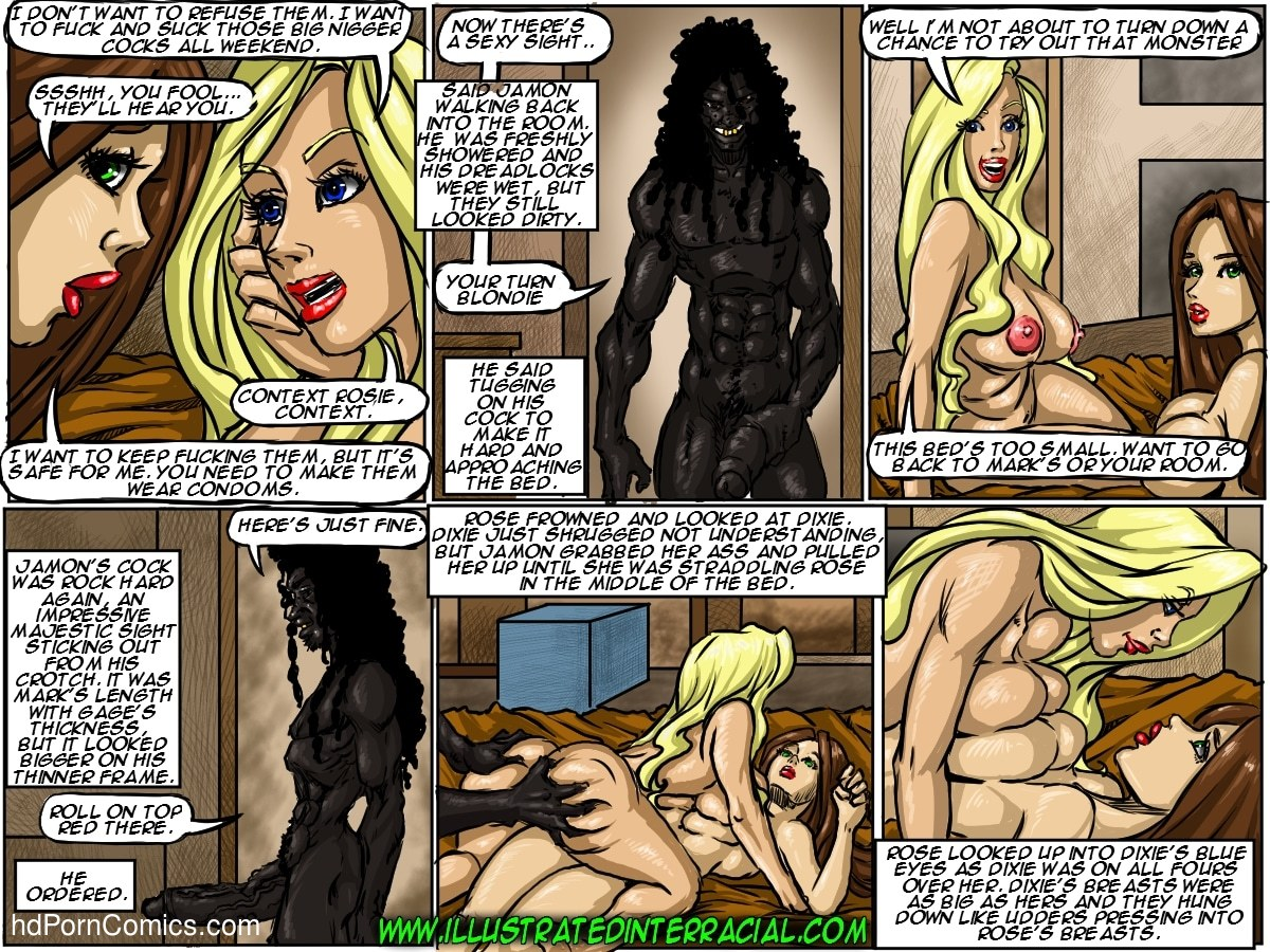 Ilustrated Interracial-Flag Girls118 free sex comic