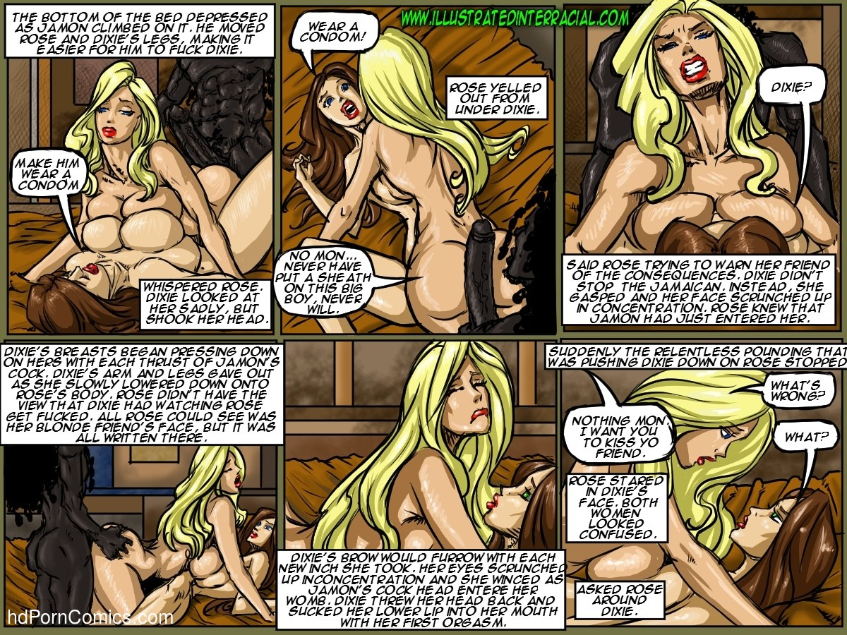Ilustrated Interracial-Flag Girls119 free sex comic