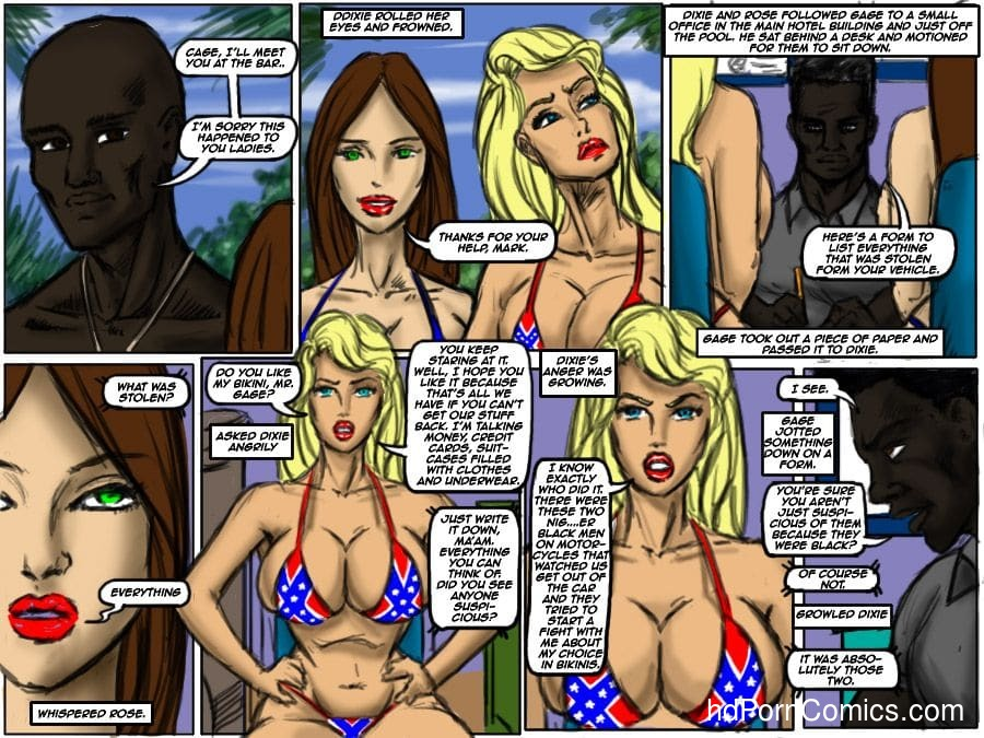 Ilustrated Interracial-Flag Girls13 free sex comic