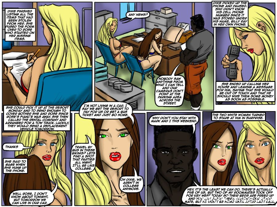 Ilustrated Interracial-Flag Girls15 free sex comic
