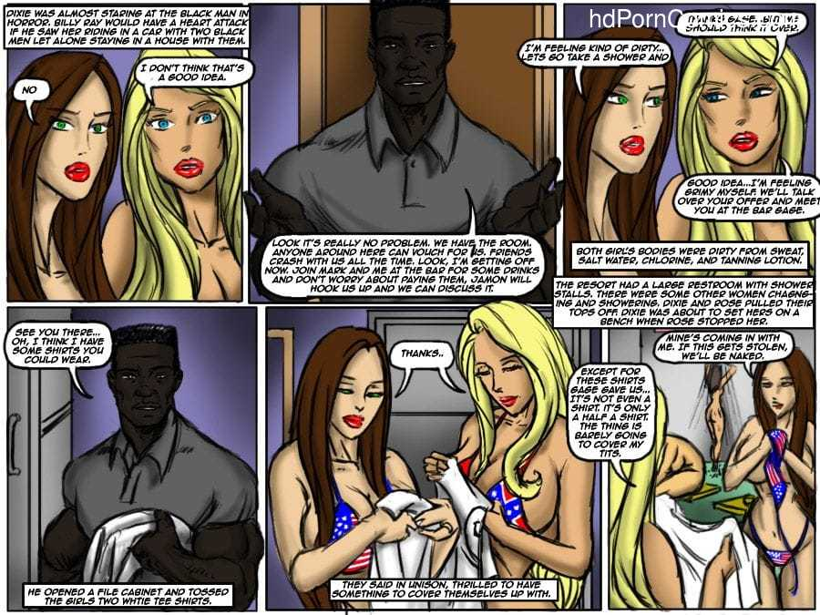 Ilustrated Interracial-Flag Girls16 free sex comic