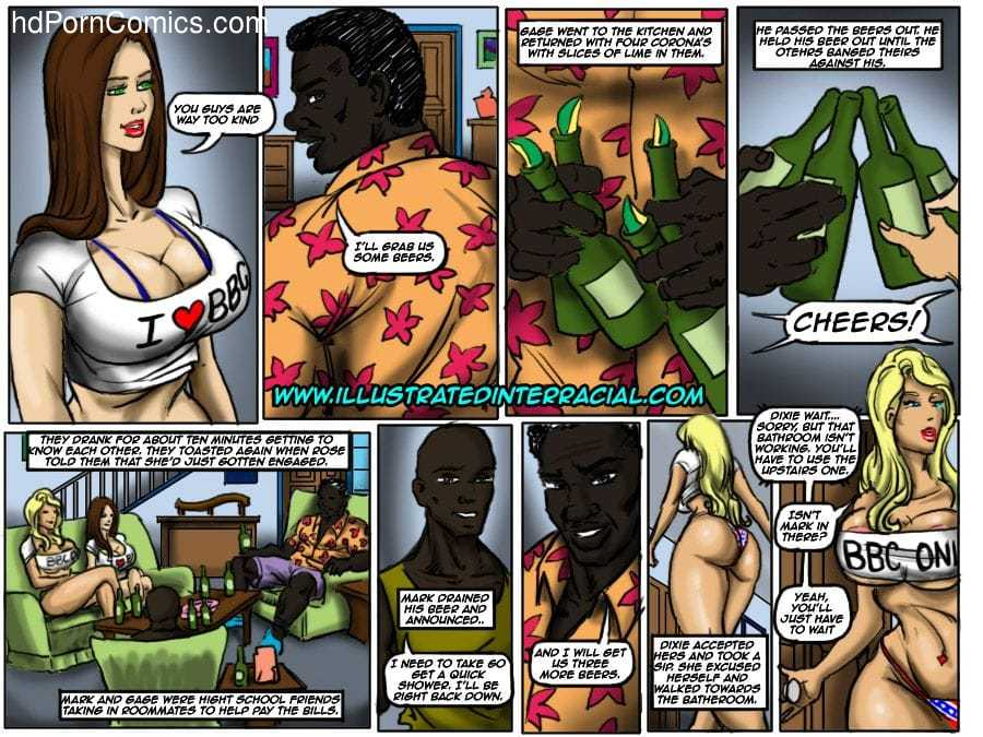 Ilustrated Interracial-Flag Girls26 free sex comic