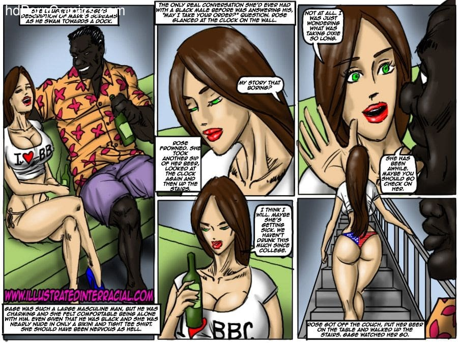 Ilustrated Interracial-Flag Girls34 free sex comic