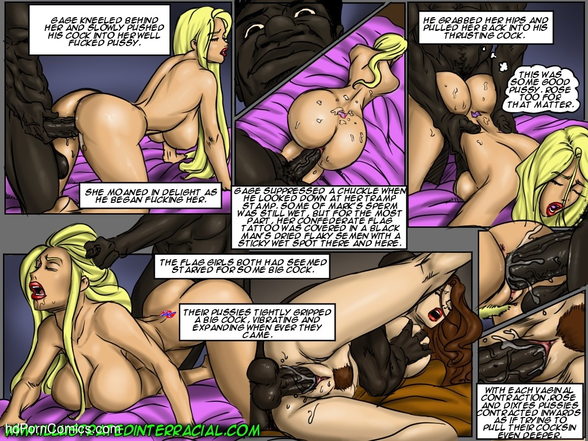 Ilustrated Interracial-Flag Girls94 free sex comic