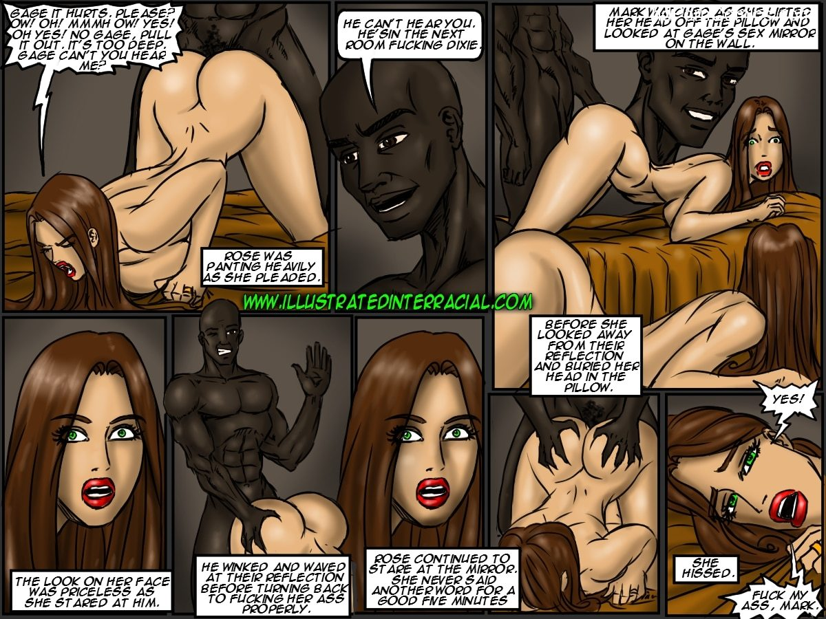 Ilustrated Interracial-Flag Girls98 free sex comic