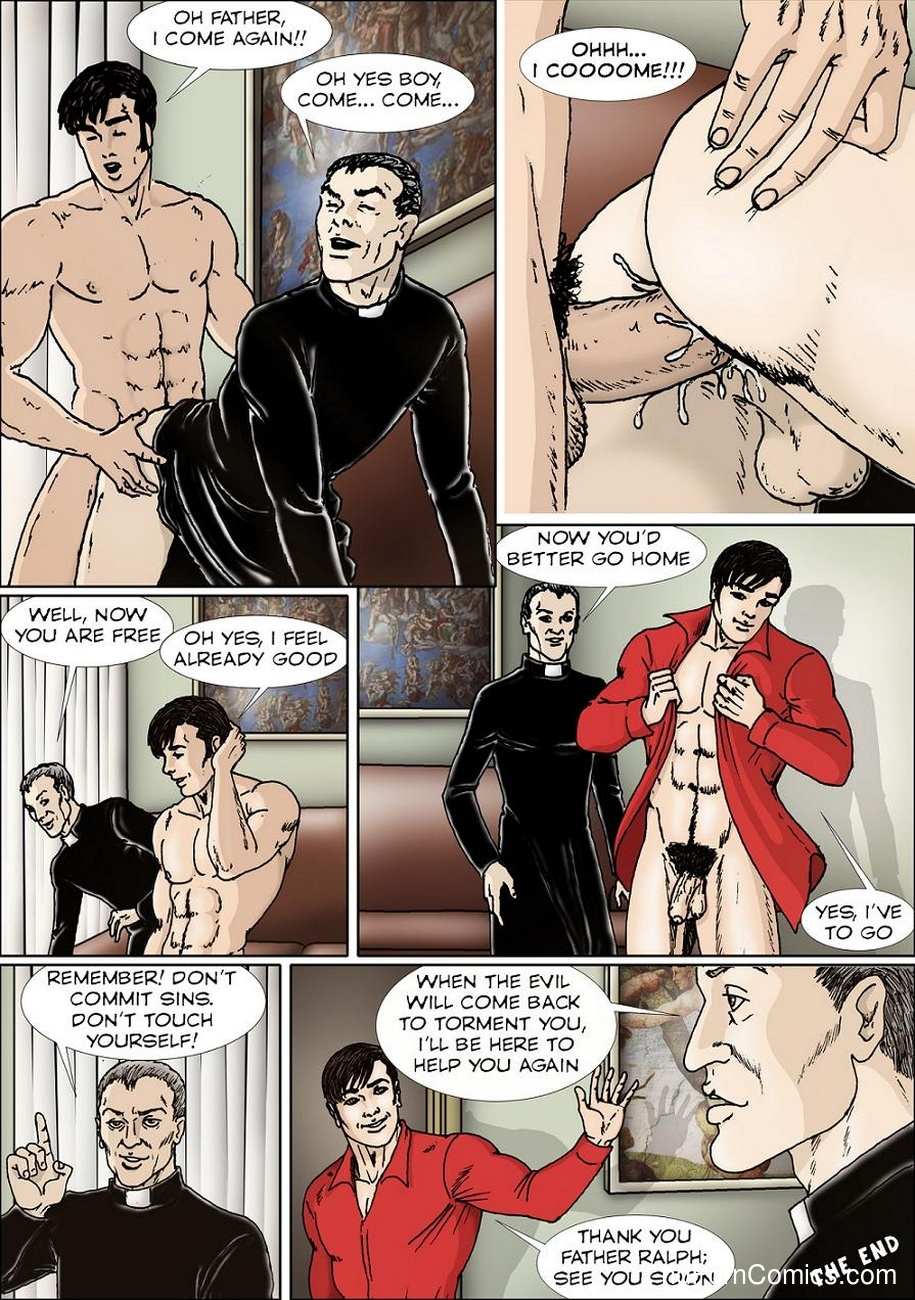 Innocent Country Boy – Confession Sex Comic