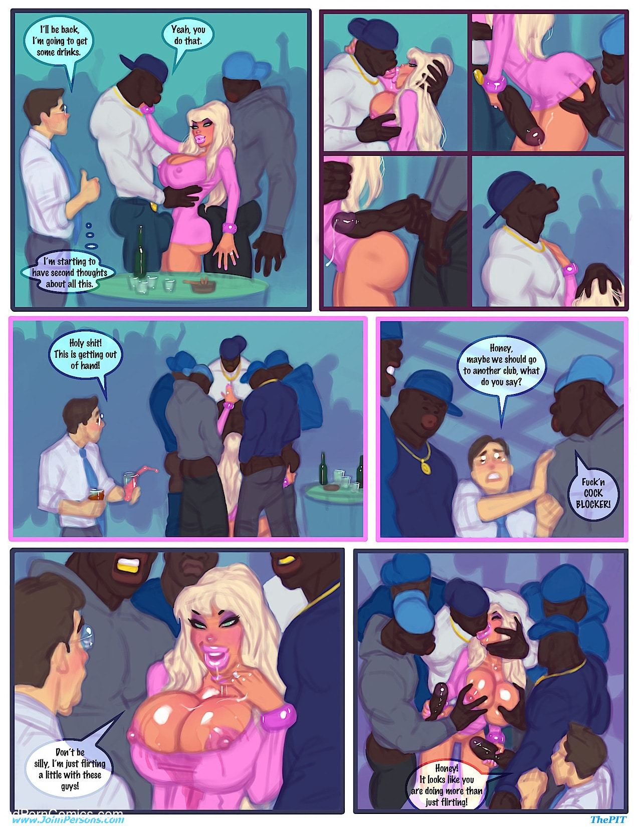 Interracial - Club slut remastered3 free sex comic