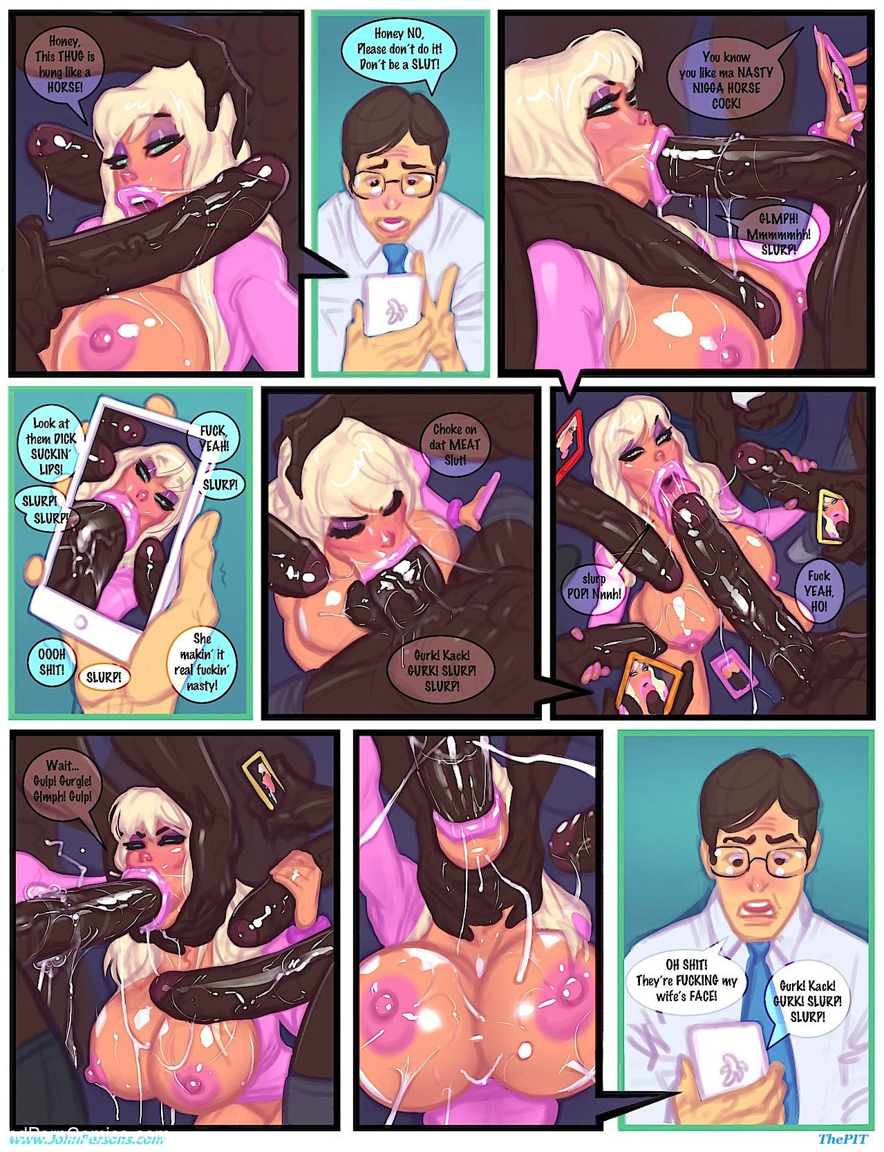 Interracial - Club slut remastered6 free sex comic