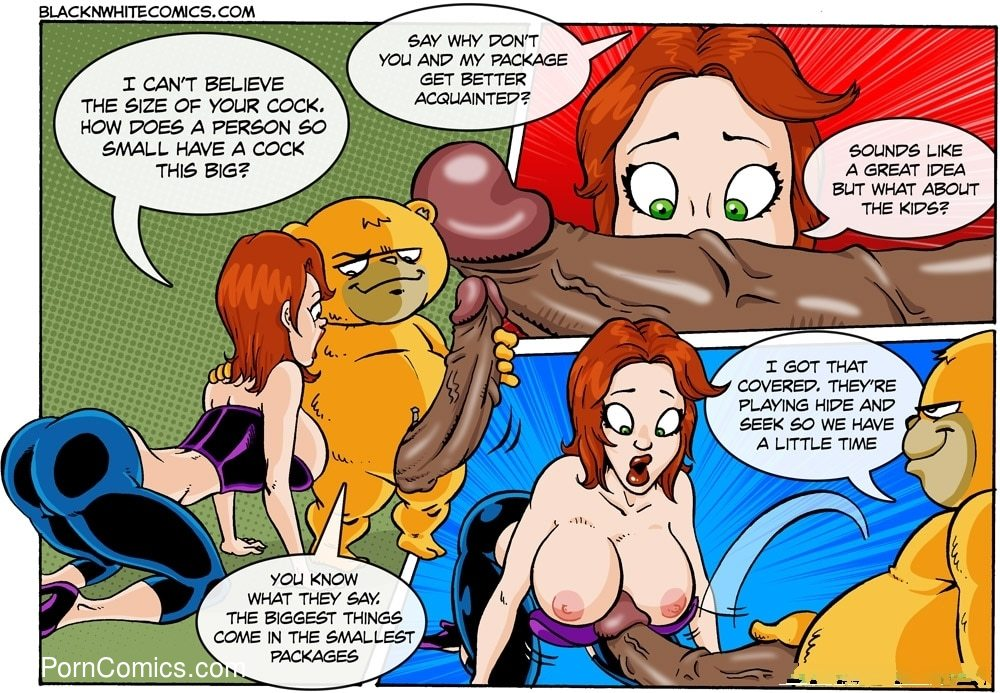 Interracial - TED16 free sex comic
