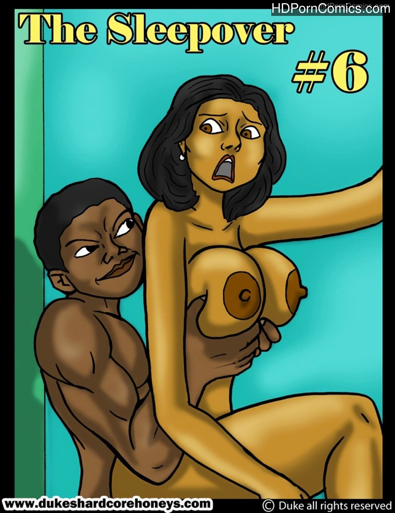 Interracial - The Sleepover 61 free sex comic