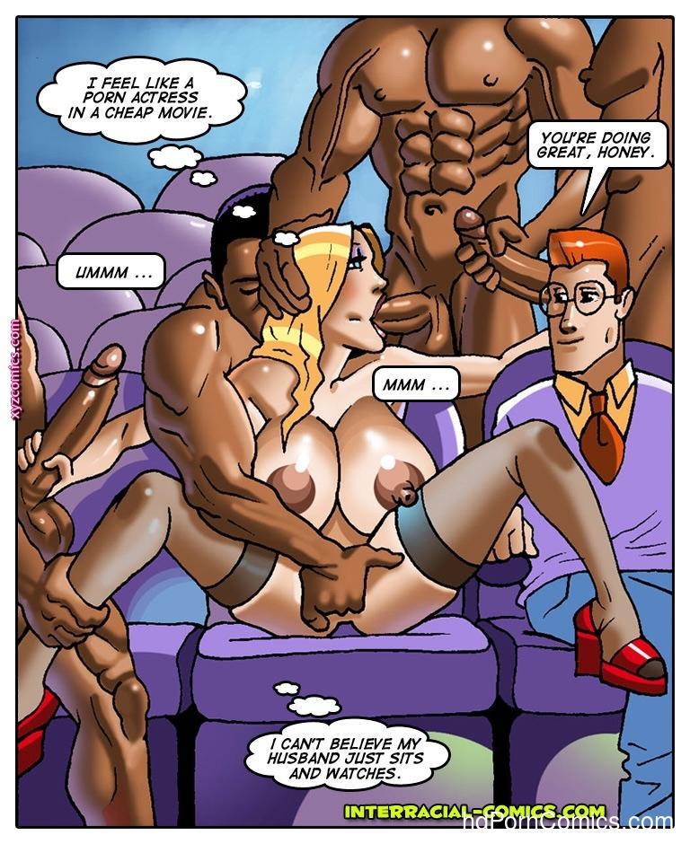 Free interracial sex comics