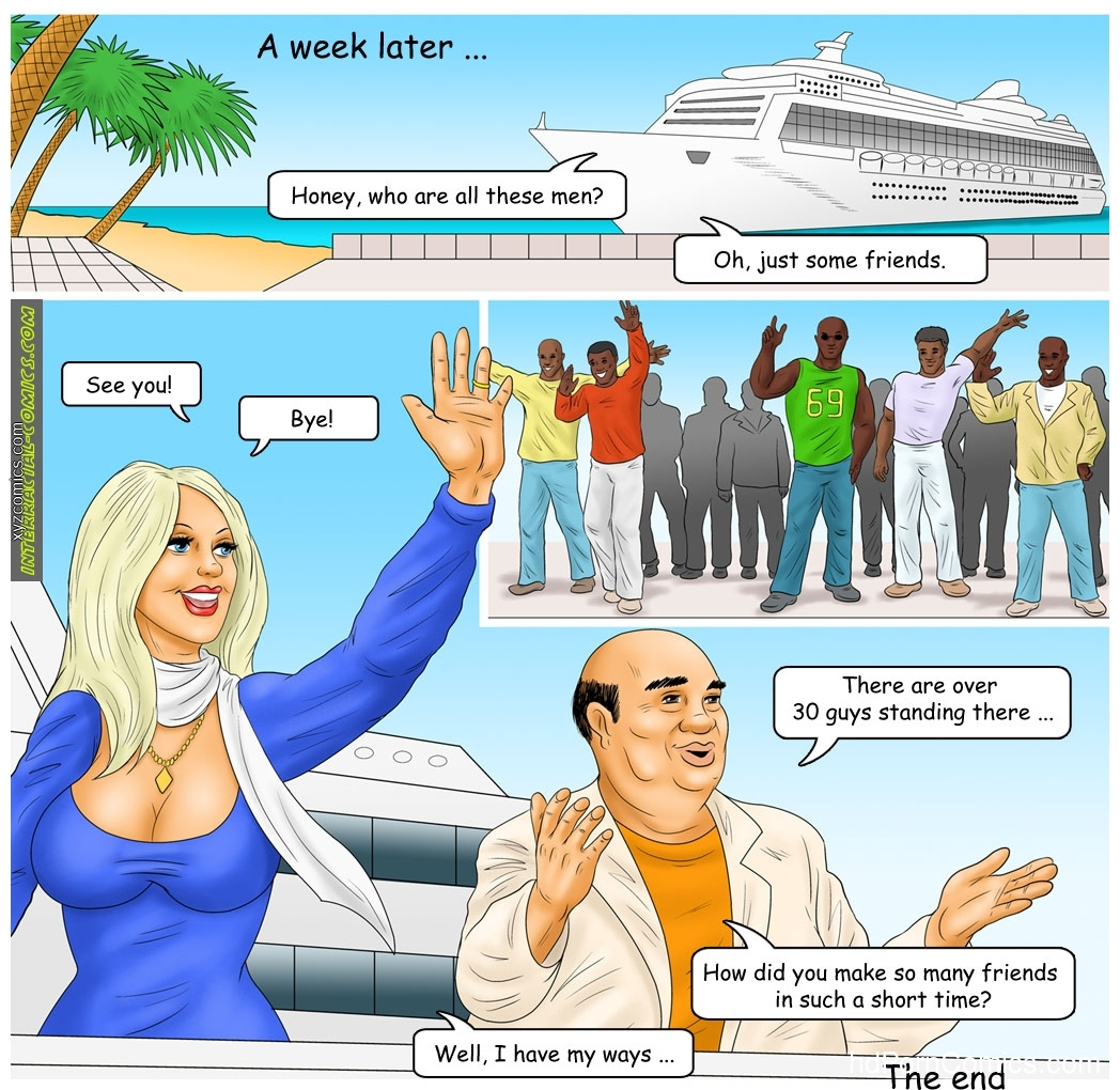 Interracial- The Caribbean holidays free Cartoon Porn Comics
