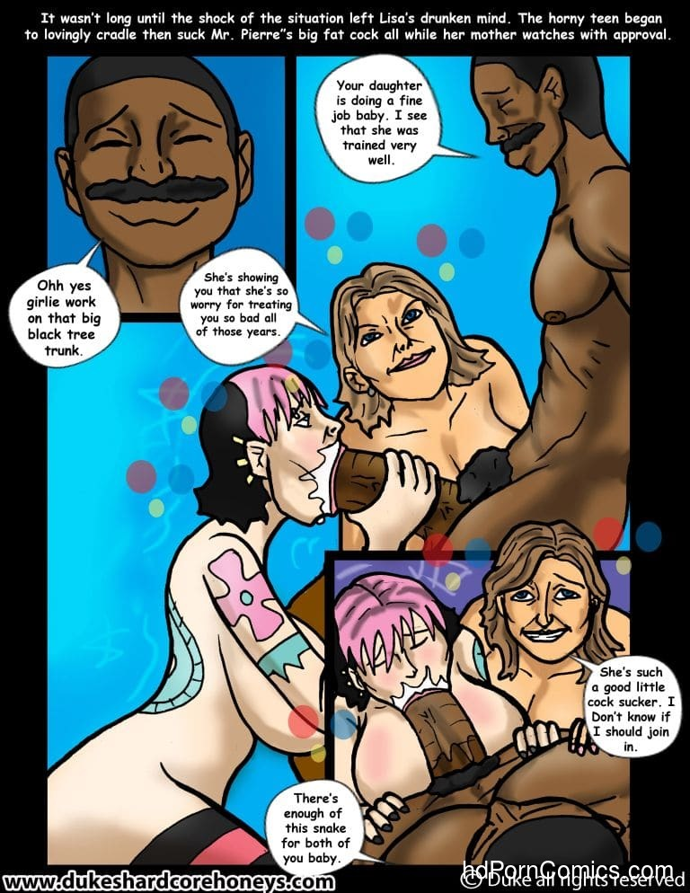 Interracial-Home Instruction 4-618 free sex comic