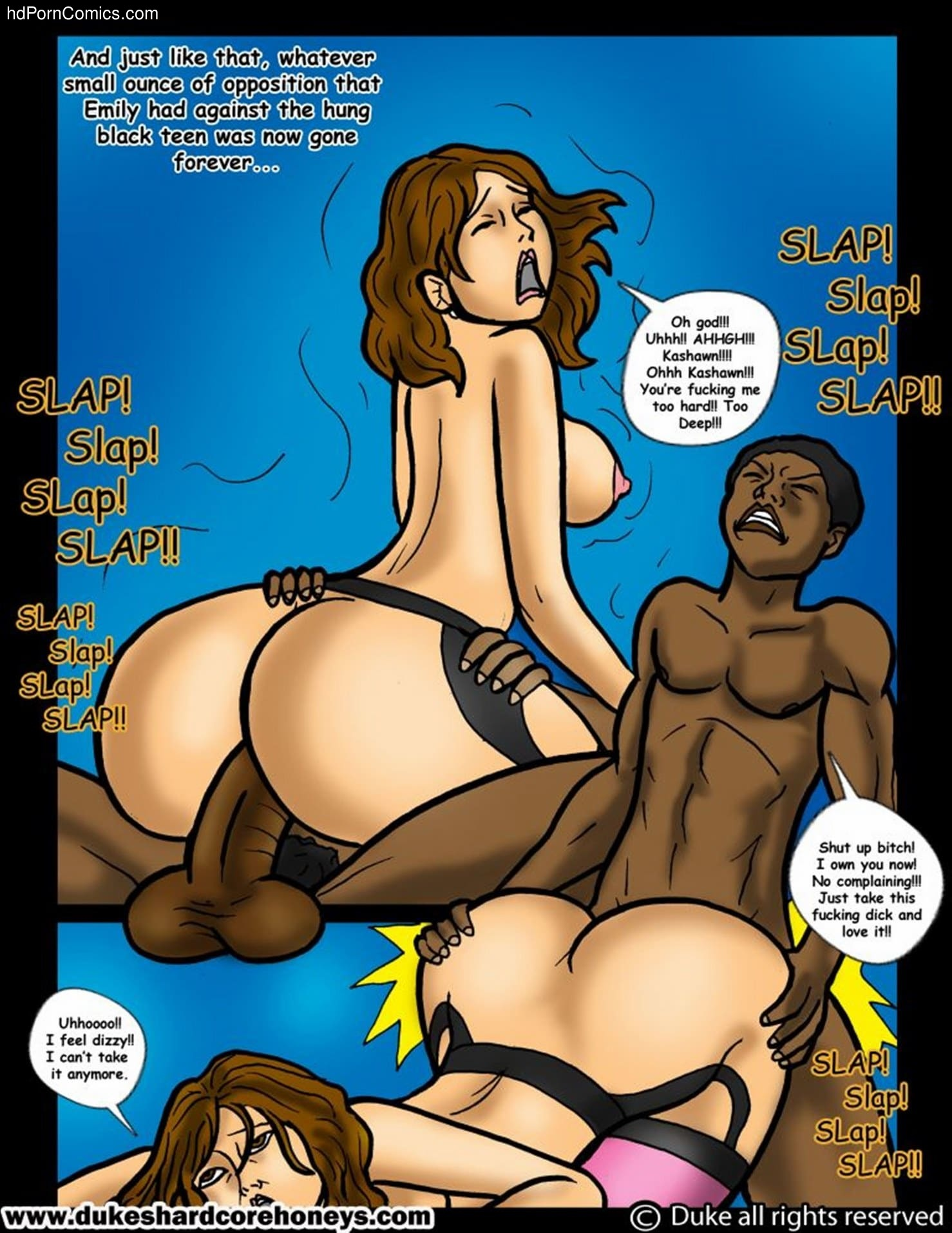 Interracial-The Sleepover 716 free sex comic