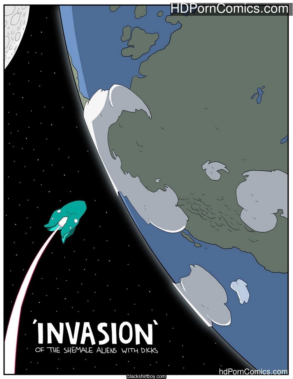 Invasion Sex Comic