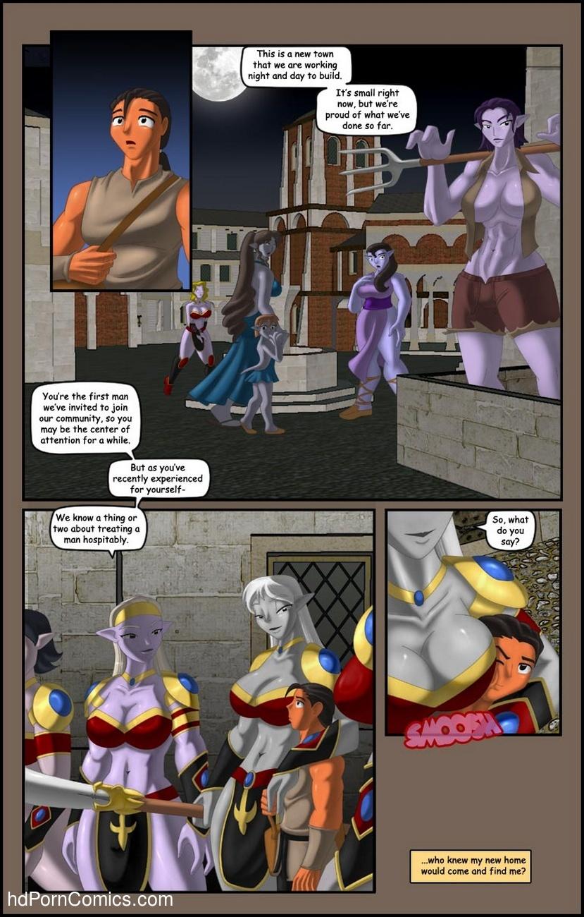 It's The Journey Sex Comic