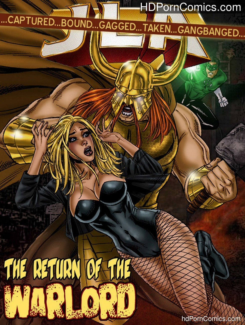 JLA – The Return Of The Warlord Sex Comic