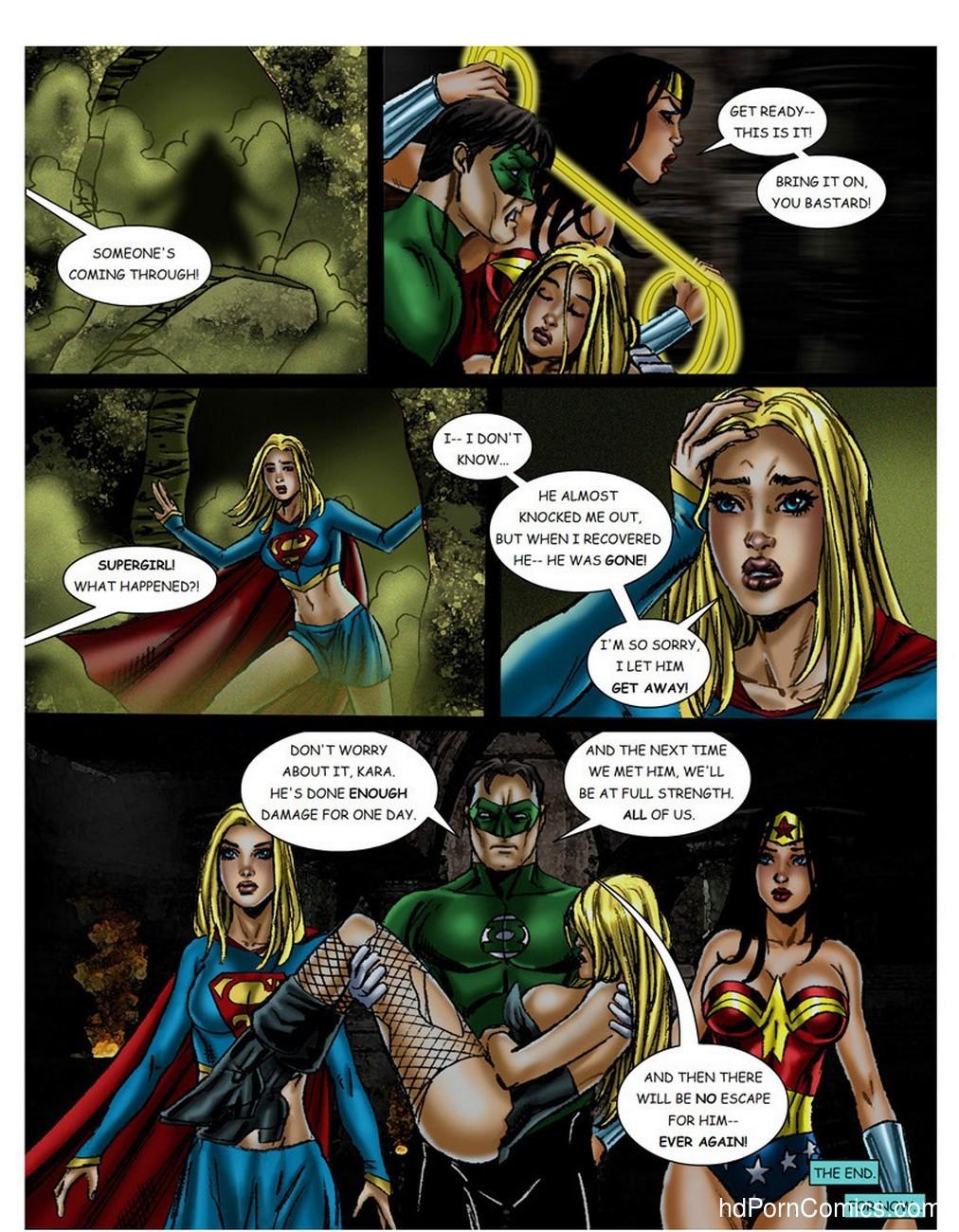 JLA – The Return Of The Warlord Sex Comic