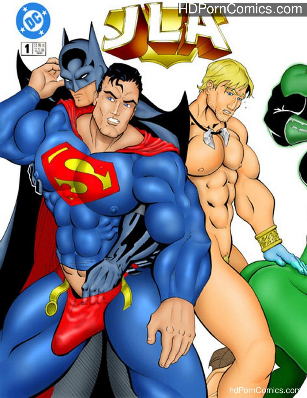 JLA Sex Comic