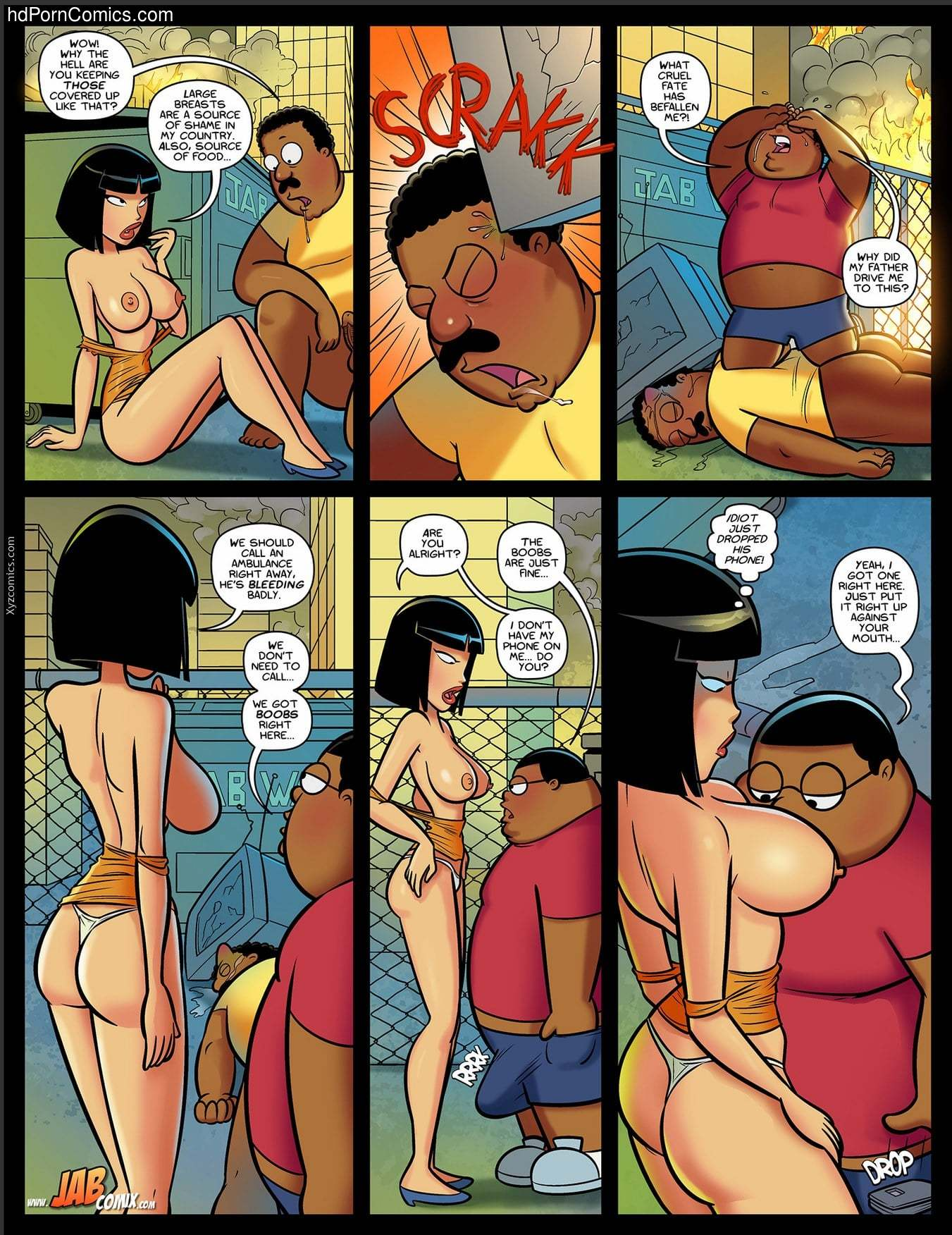 Jabcomix – The Cleveland Porn NEW5 free sex comic