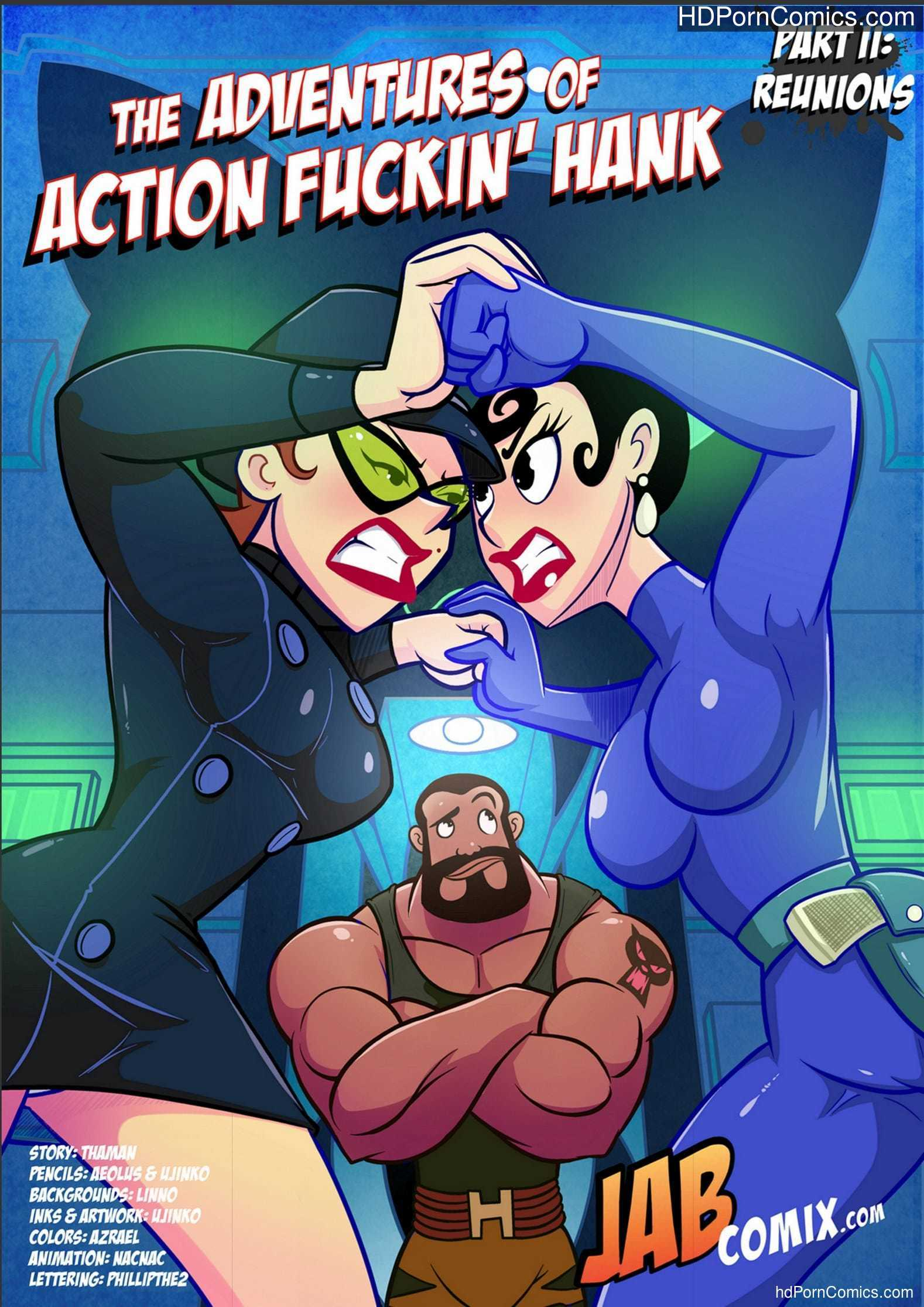 Jabcomix – Action Fuckin' Hank 2 Update free Cartoon Porn Comic