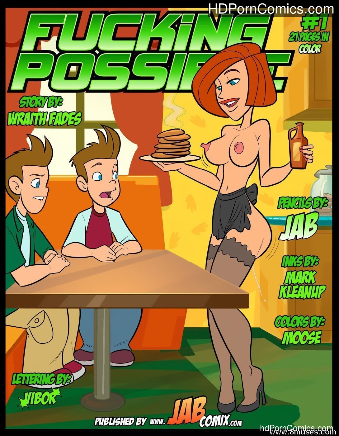 Jabcomix - FUCKING POSSIBLE1 free sex comic