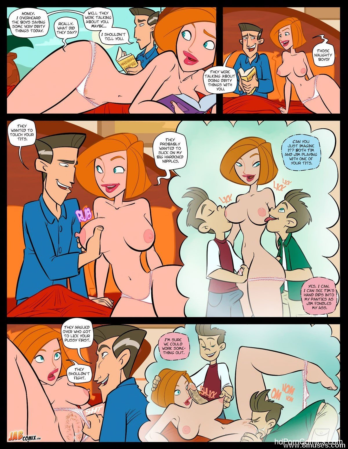 Jabcomix - FUCKING POSSIBLE2 free sex comic