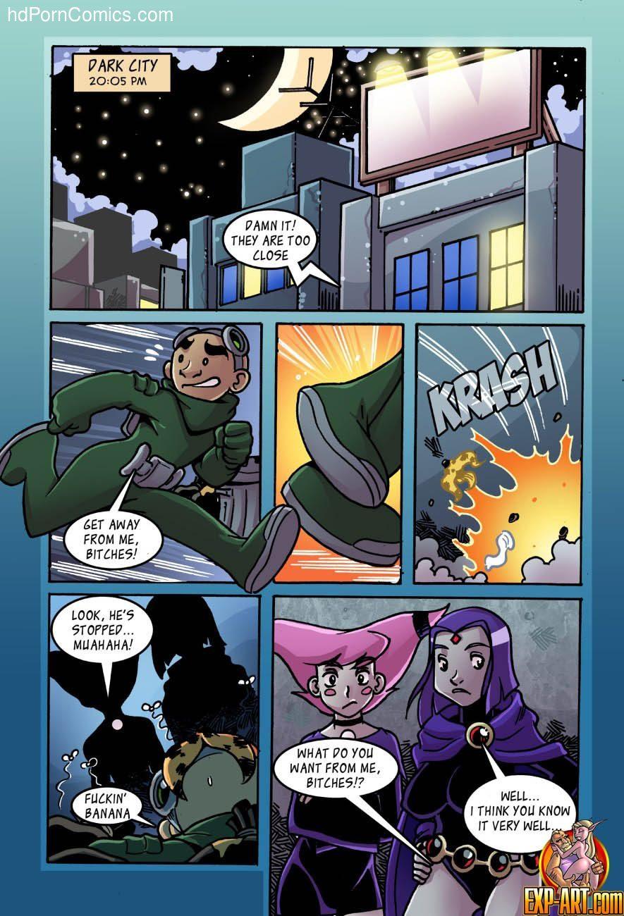 Jinx & Raven 2 free sex comic