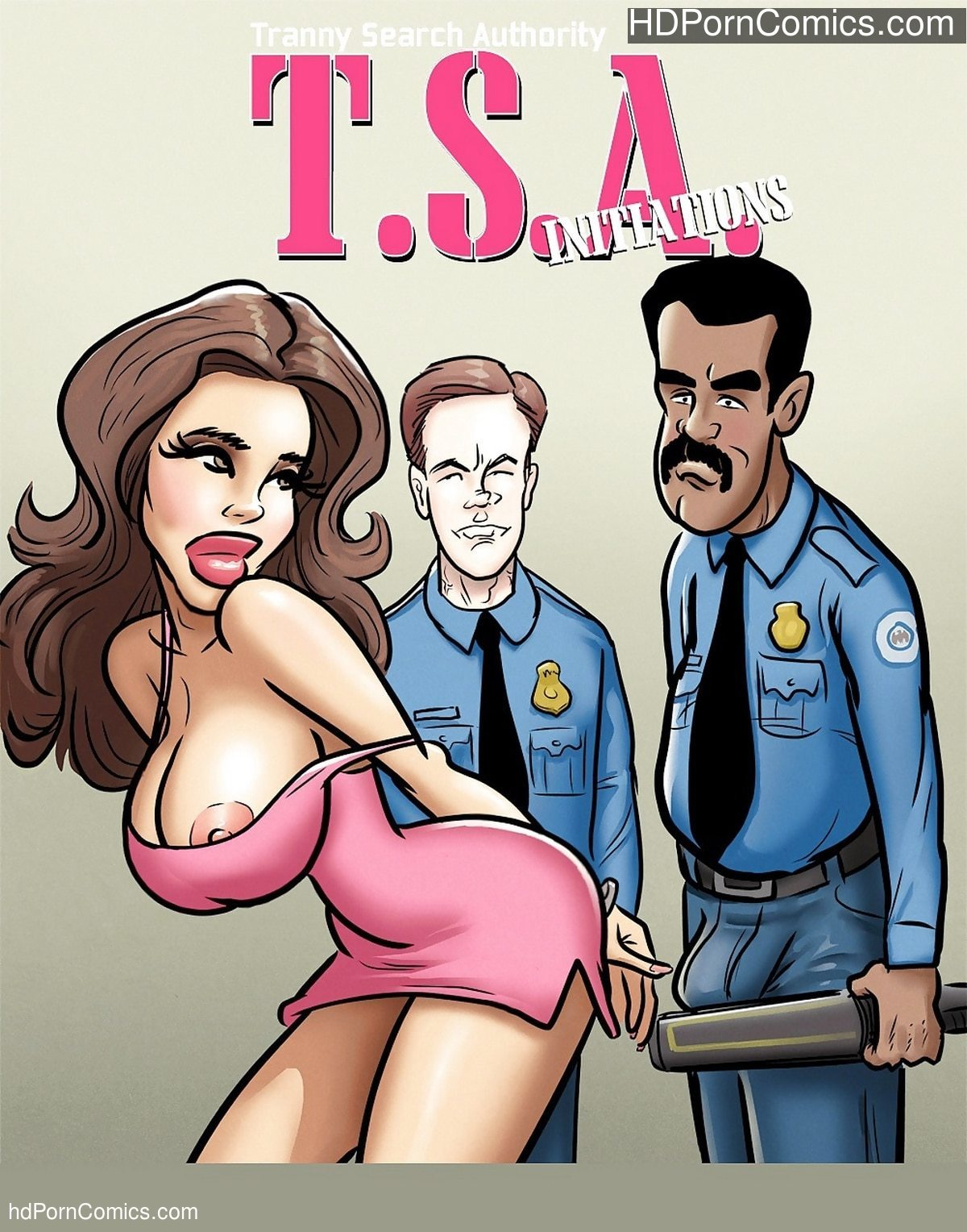John Persons – T.S.A. Initiations free Cartoon Porn Comic