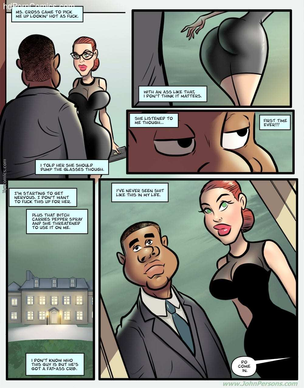 John Persons- Ms. Cross 27 free sex comic