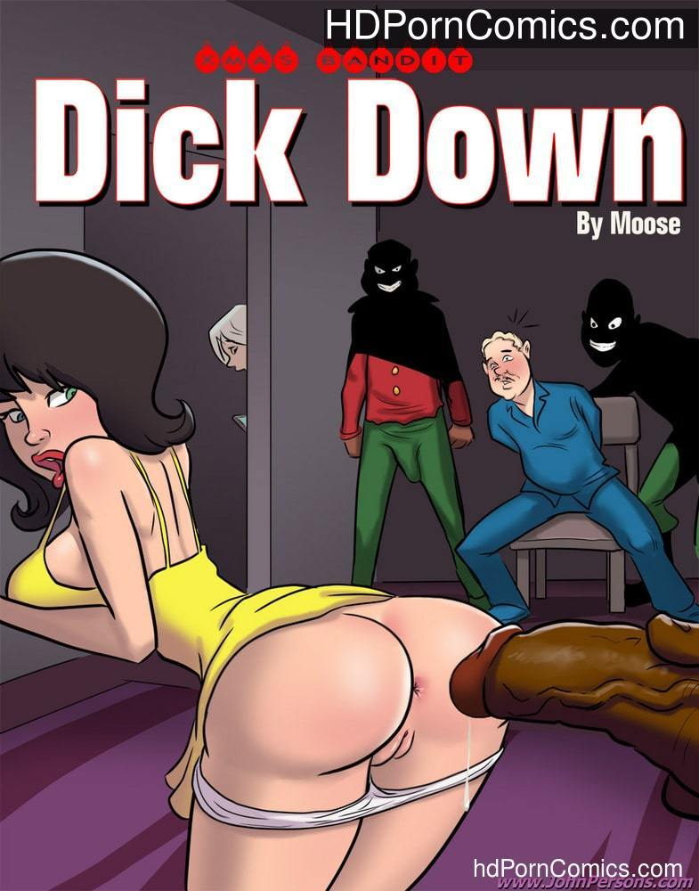 JohnPersons – XMas Bandit – Dickdown free Porn Comic
