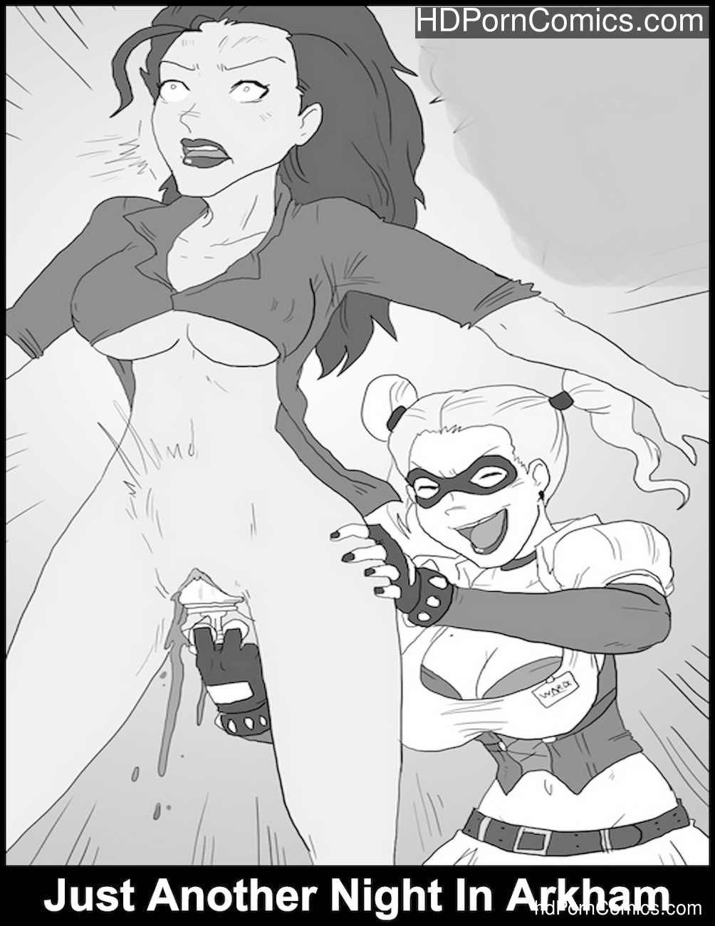 Just Another Night In Arkham Sex Comic