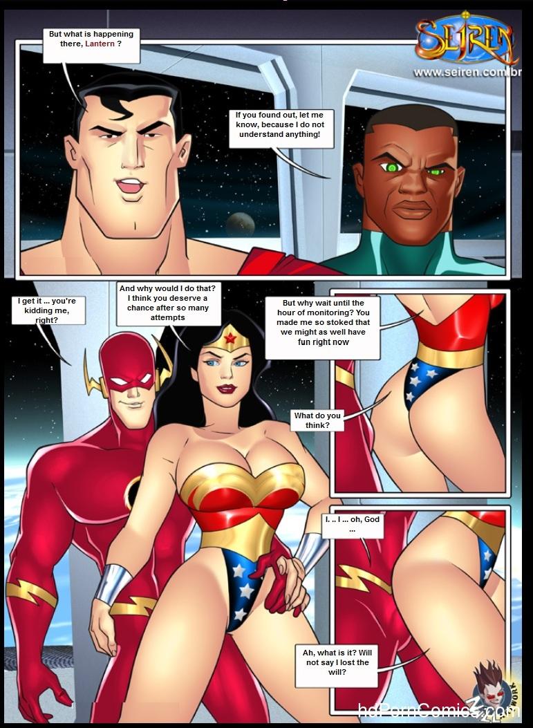 Justice League Sex 109