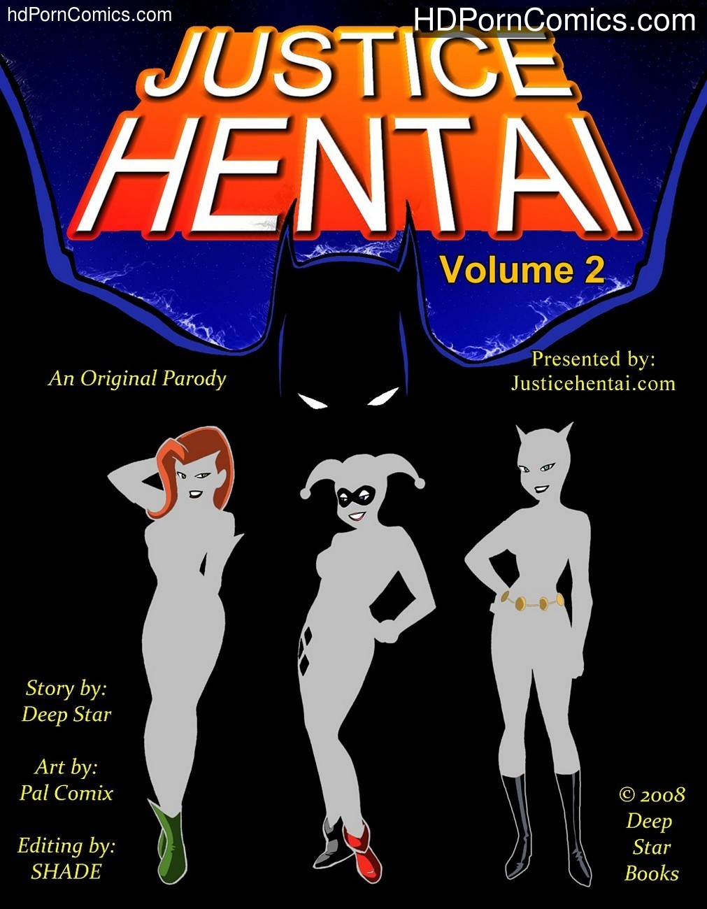 Justice Hentai 2 Sex Comic