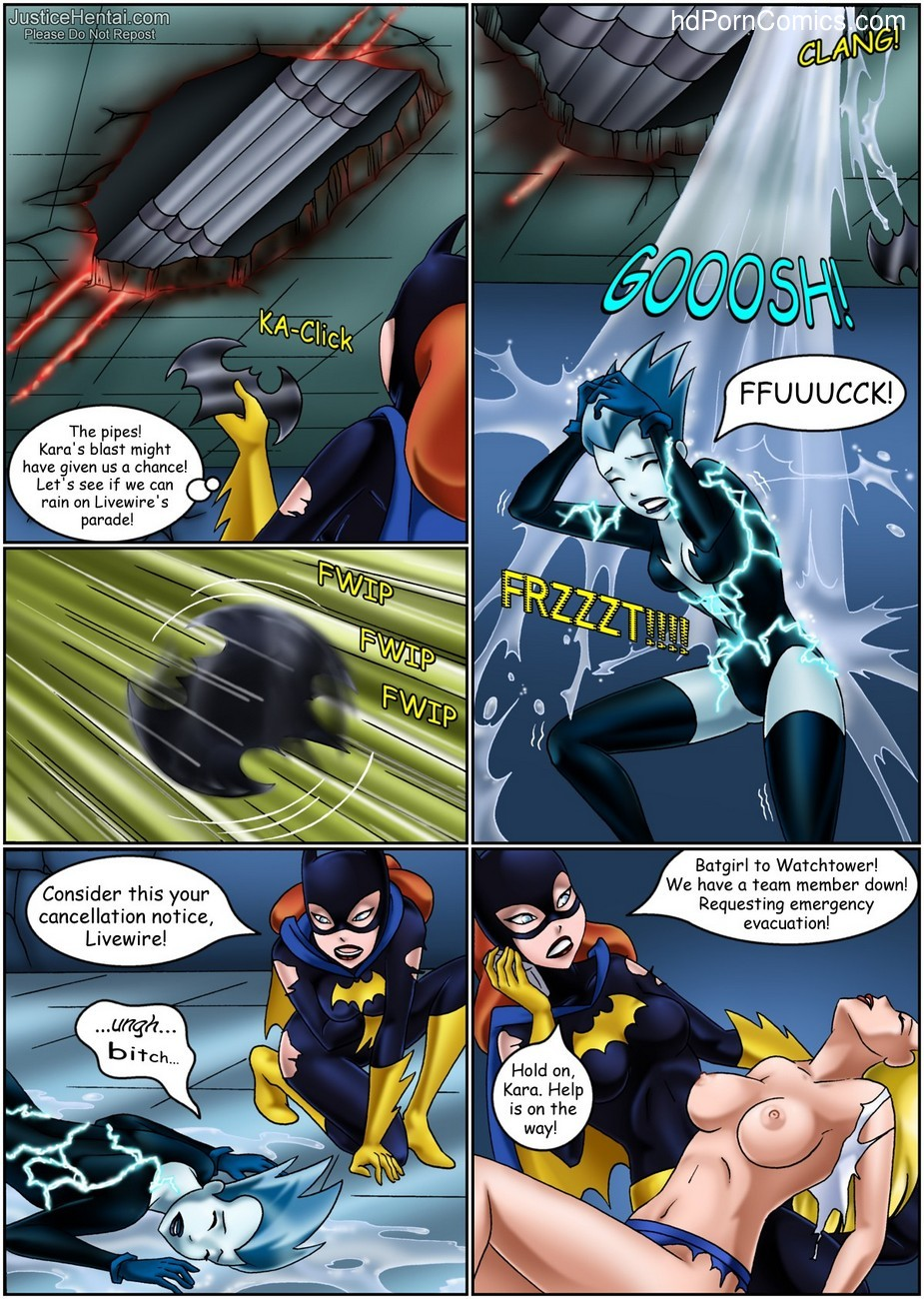 Justice Hentai 4 27 free sex comic