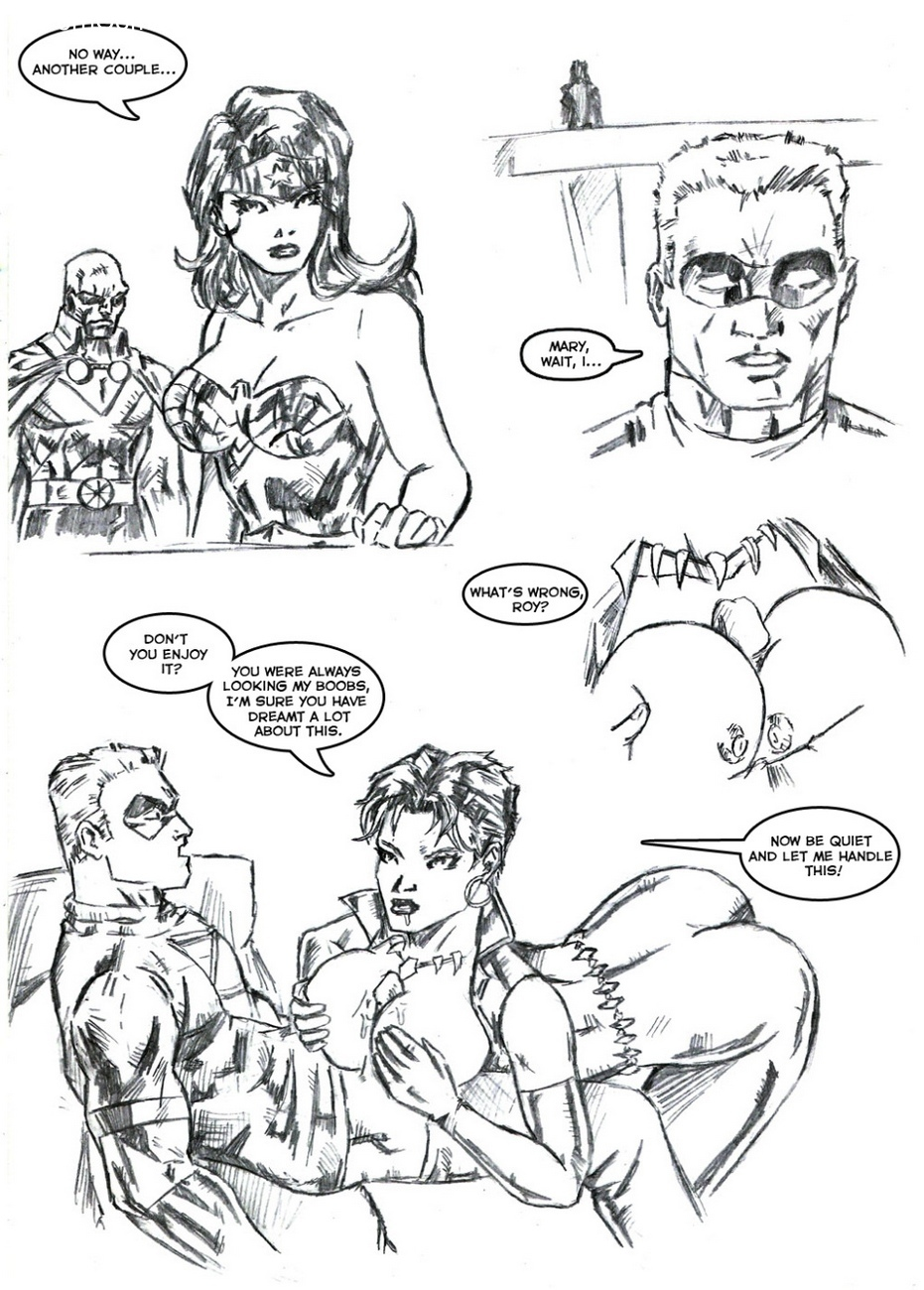 Justice League XXX 7 free sex comic