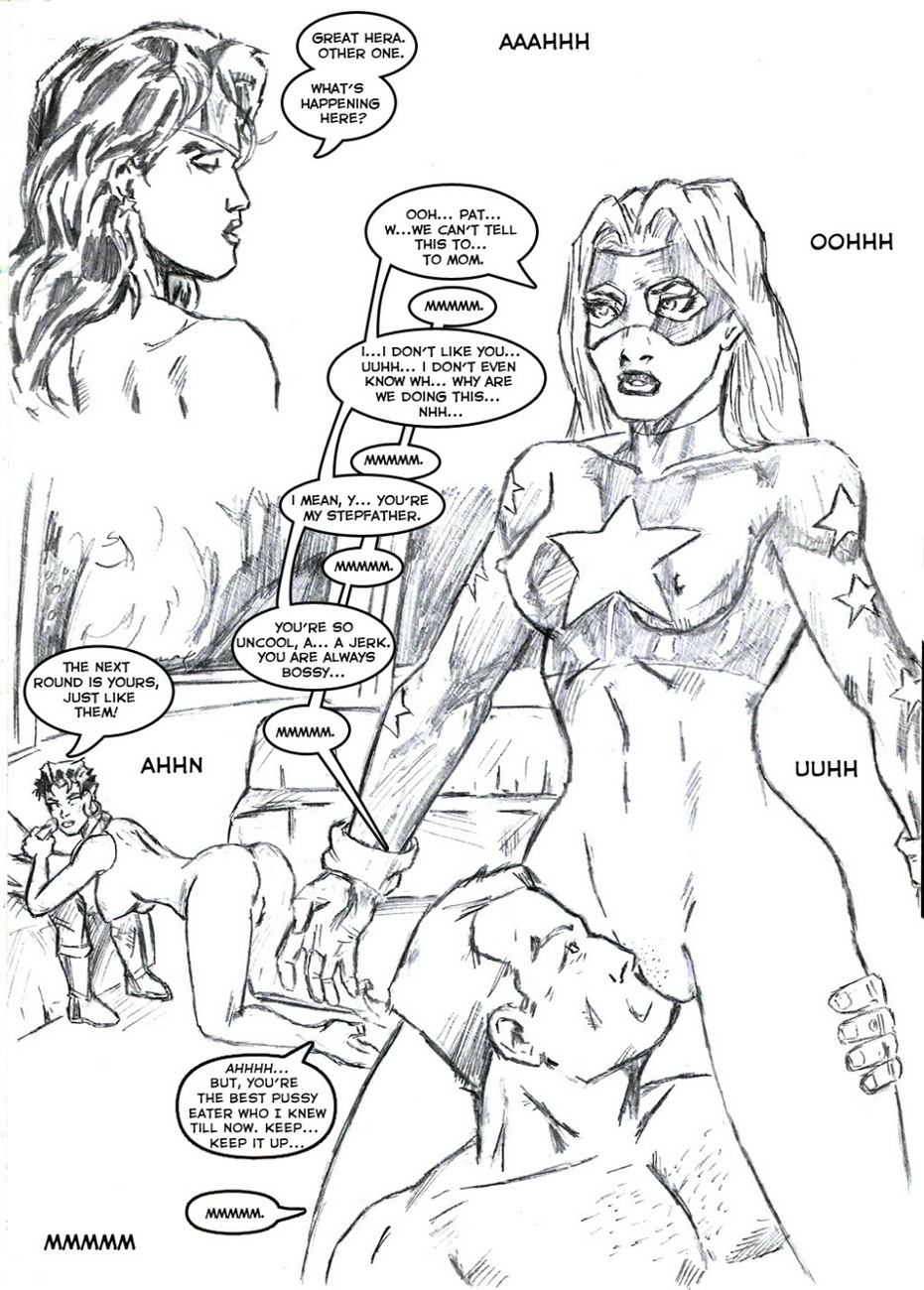 Justice League XXX 8 free sex comic
