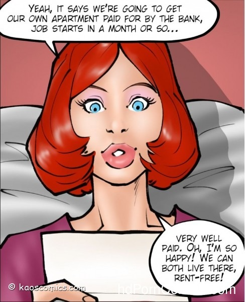 Kaos- Annabelle's New Life4 free sex comic
