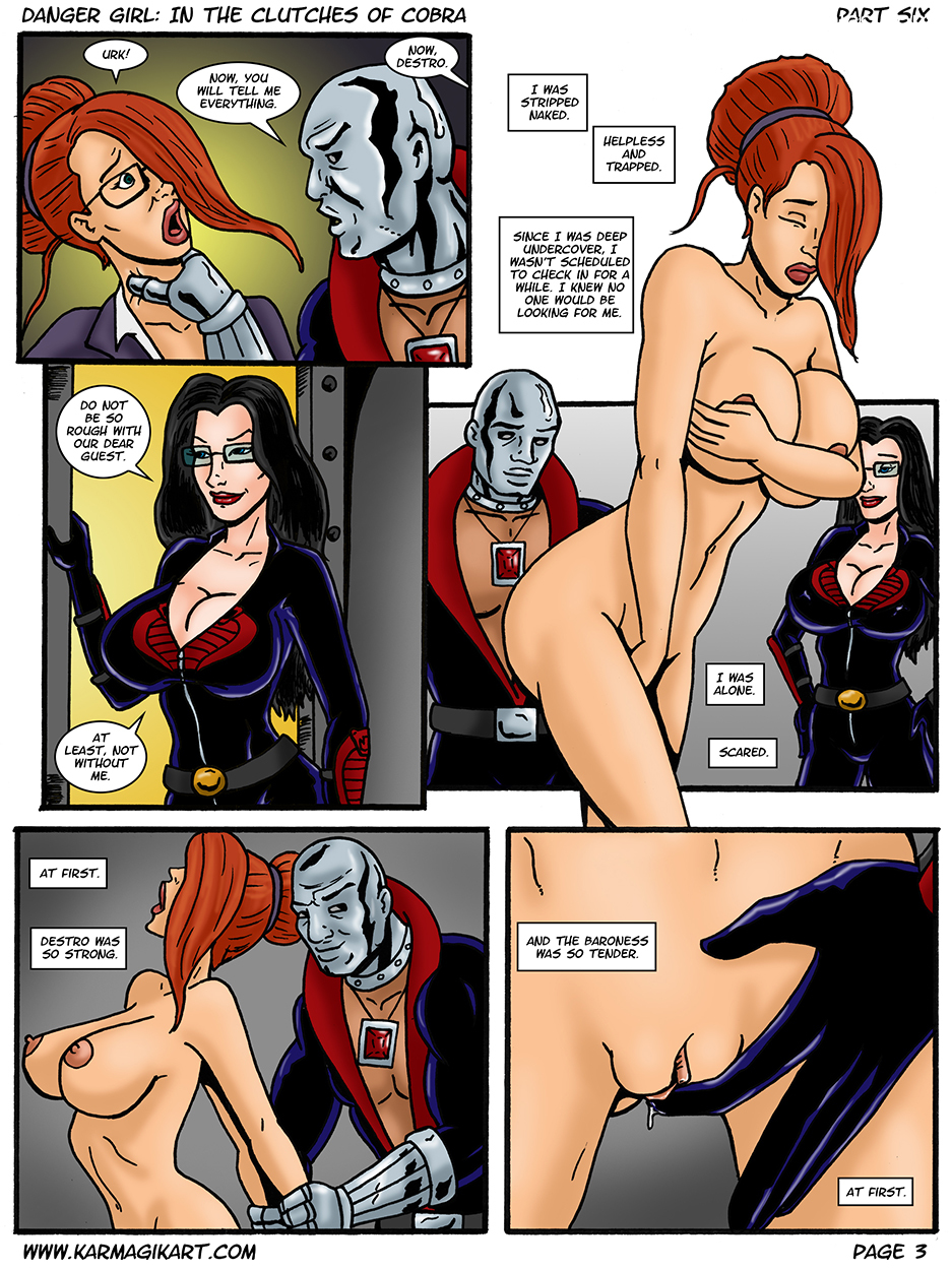 Karmagik- Danger Girl In the Clutches of Cobra28 free sex comic