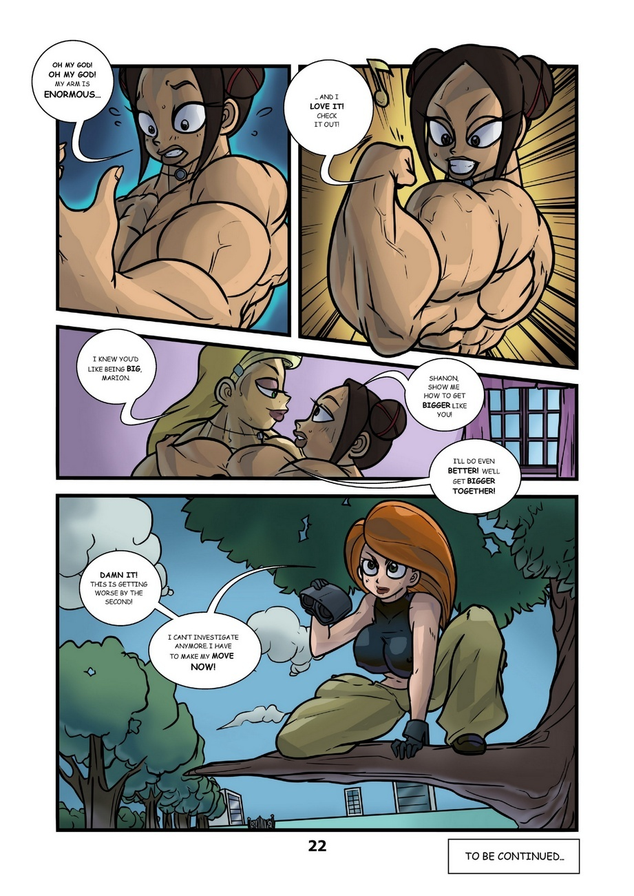 Kartoon Warz 1 – Bigger And Bigger Sex Comic