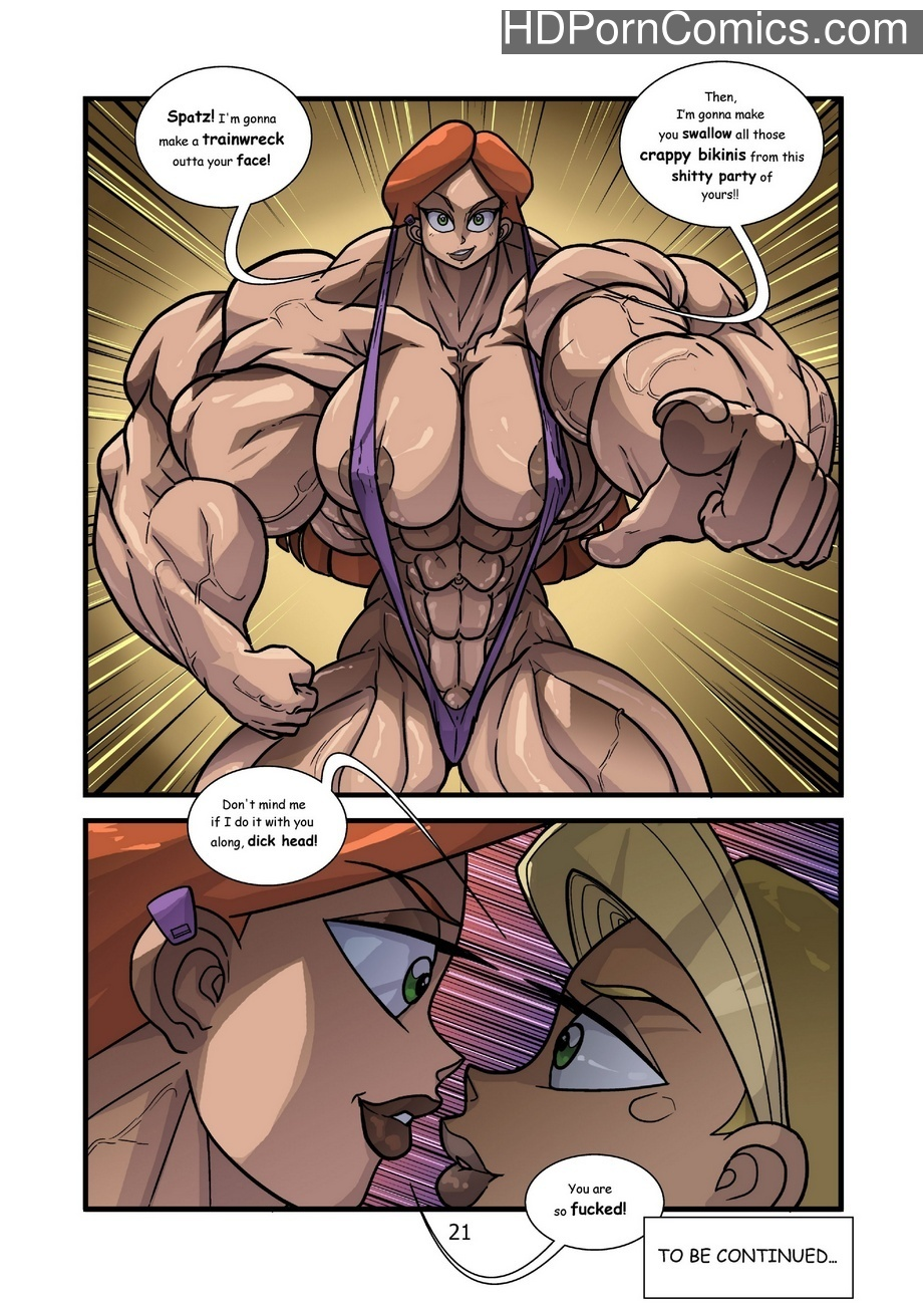 Kartoon Warz 2 – Bikini Party Sex Comic