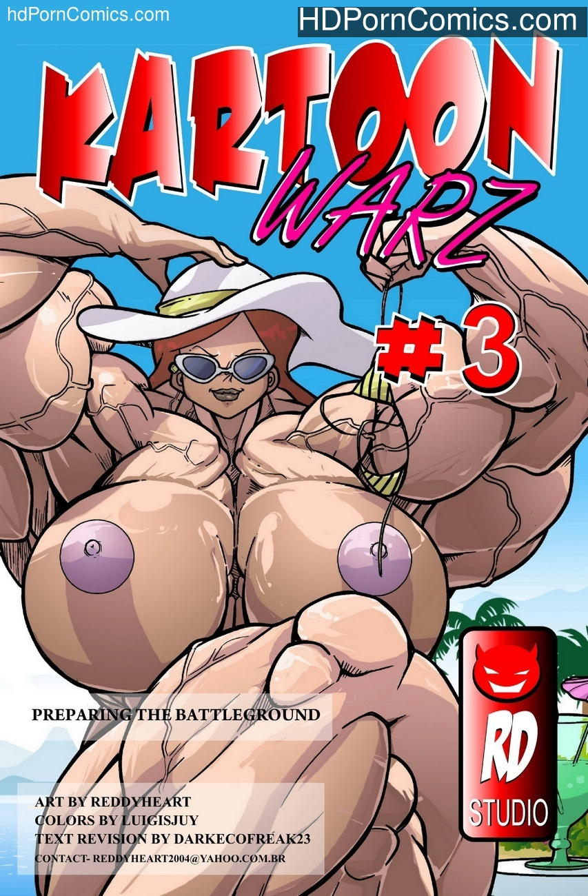 Kartoon Warz 3 – Preparing The Battleground Sex Comic