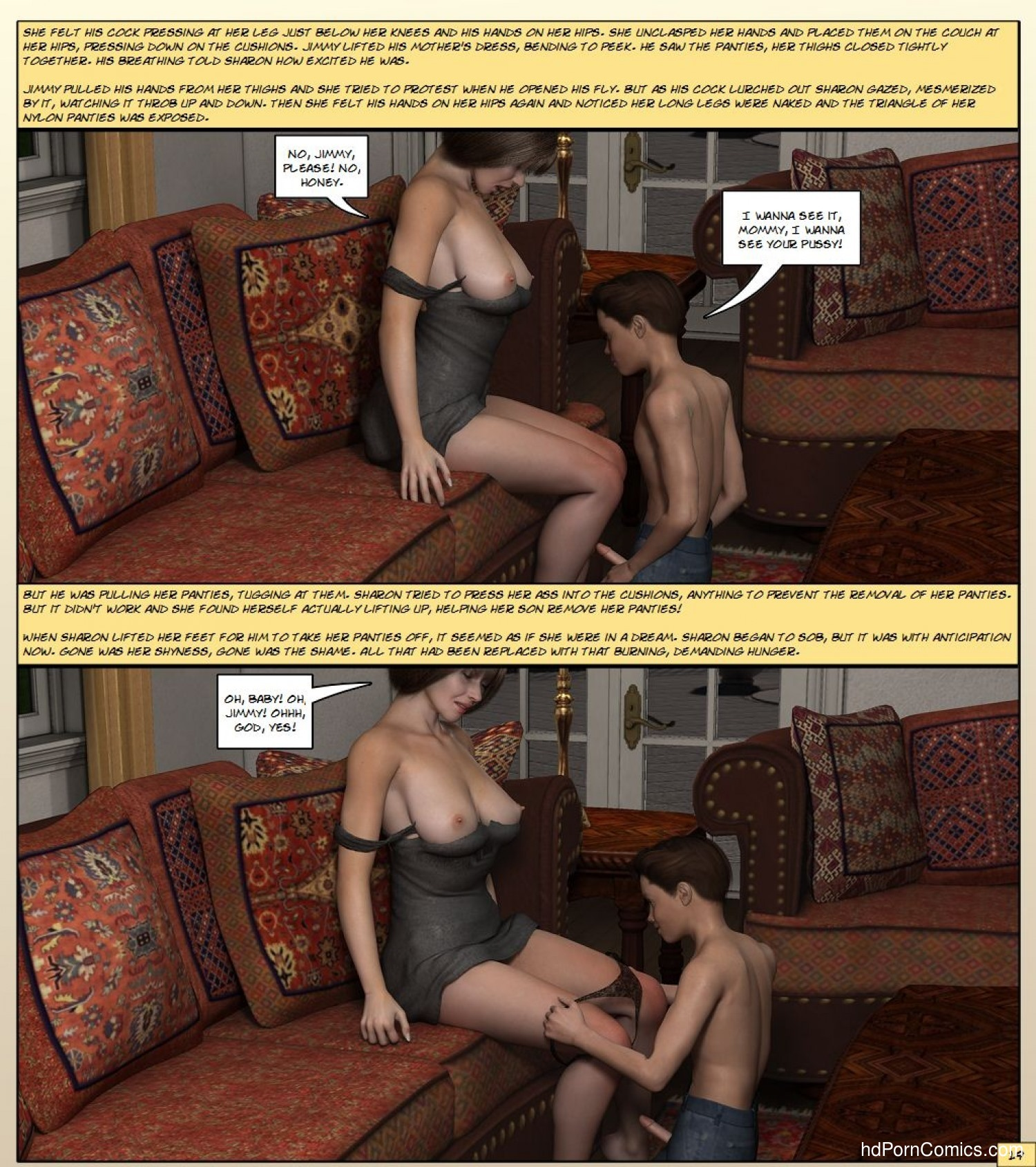 Kathy Andrews – Mother Gets Horny20 free sex comic