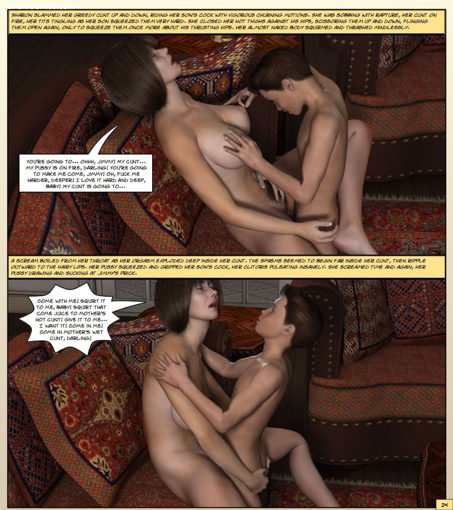 Kathy Andrews – Mother Gets Horny25 free sex comic
