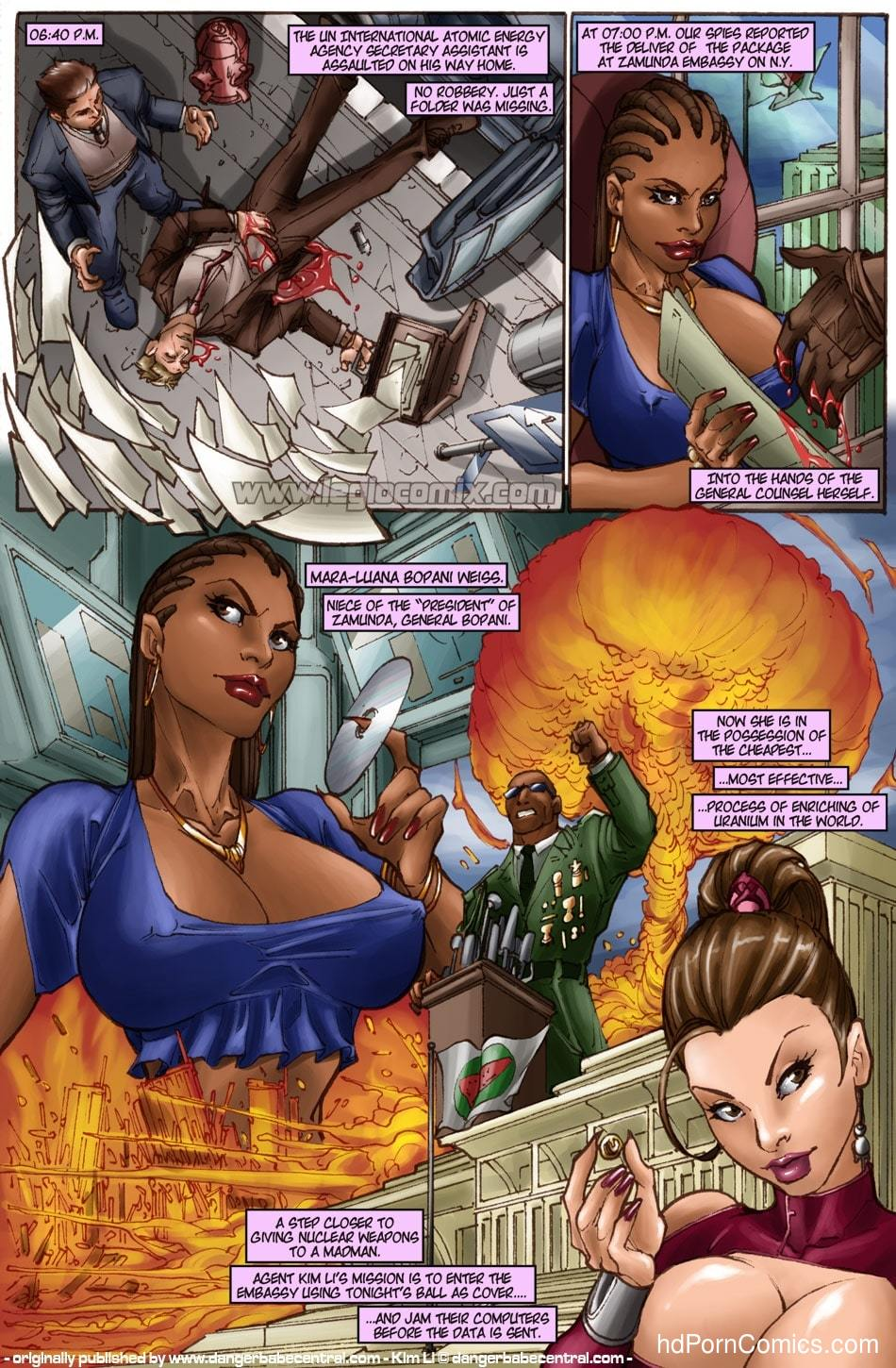Kim Li - The Zamunda Affair2 free sex comic